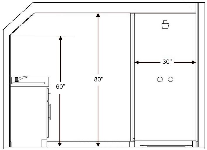 bathroom window height from floor standard bathroom and guidelines with measurements 22595