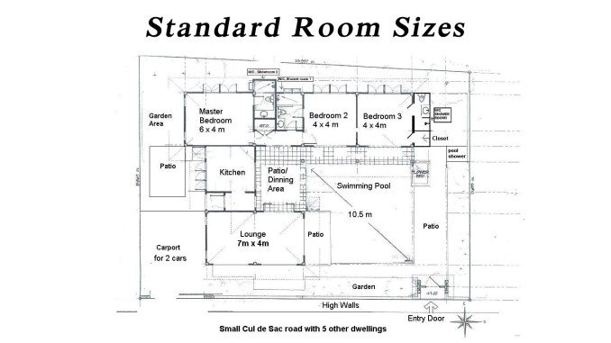 standard small bedroom size standard room sizes engineering feed 17401